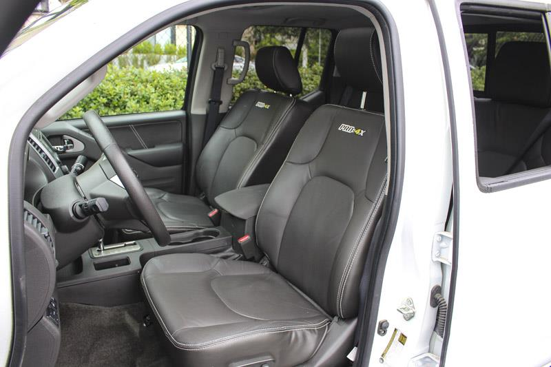 2017 nissan frontier crew cab pro 4x navi leather used for sale in victoria at campus acura for 2017 nissan frontier crew cab interior