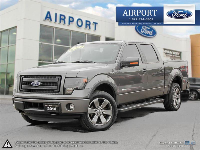 2014 Ford F-150 4WD SuperCrew #A70763