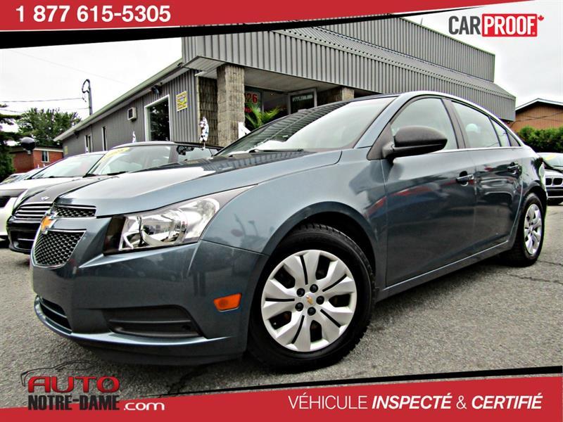 Chevrolet Cruze 2012 4dr Sdn LS 26$ par Semaine  #K0516