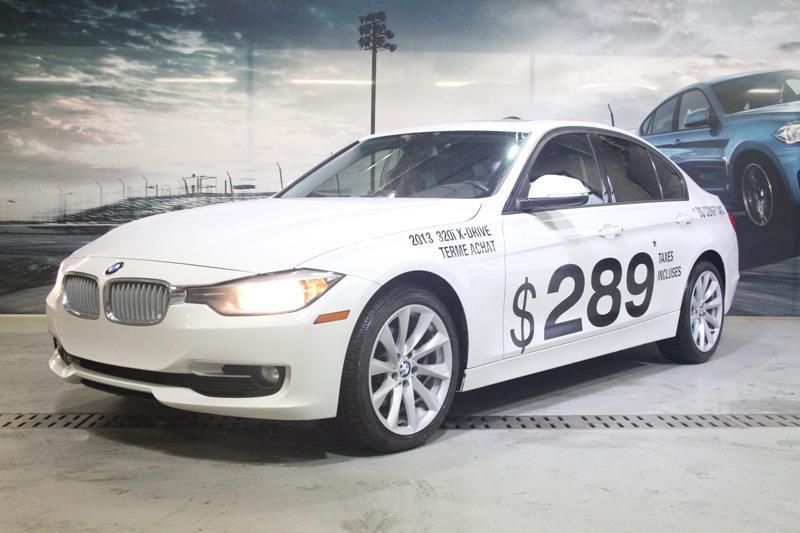 BMW 3 Series Sedan 2013 320i xDrive #U4002