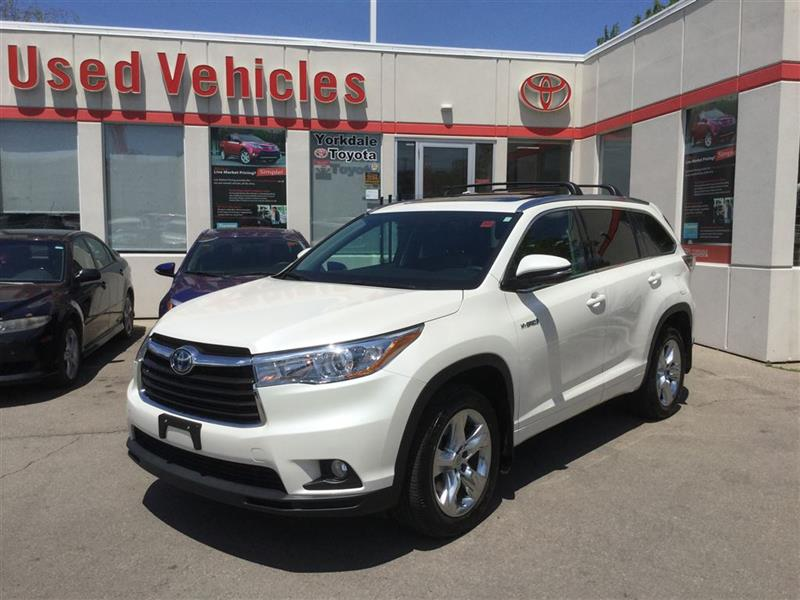 2014 Toyota Highlander Hybrid ****SOLD SOLD SOLD**** ROOF, NAVI, PUSH BUTTON, LO #L6513