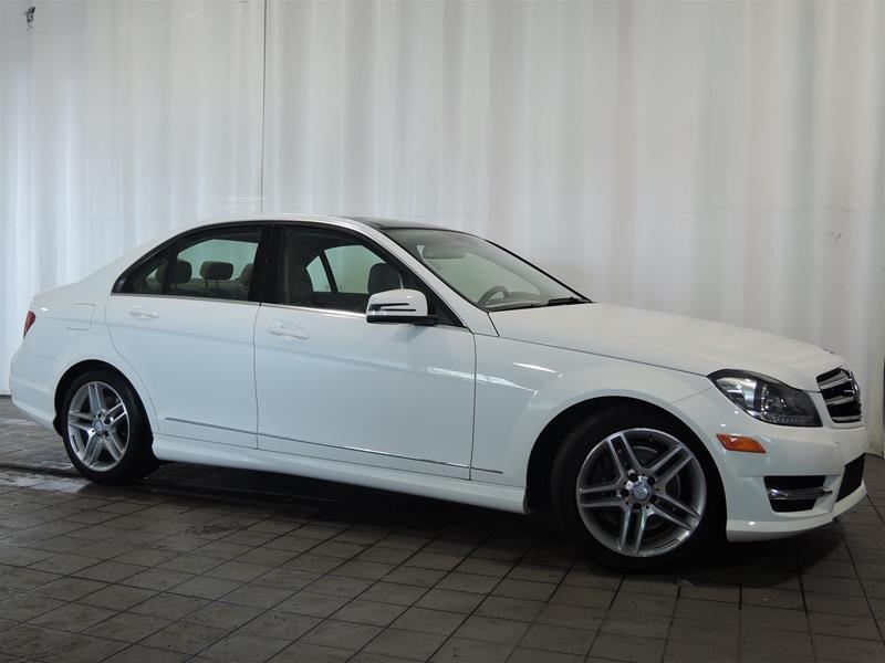 Mercedes-Benz C300 2014 4MATIC Sedan *TOIT PANO CERTIFIÉ* #U17-193