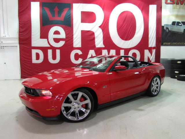 Ford Mustang 2010 CONVERTIBLE GT 350HP #A6310-1