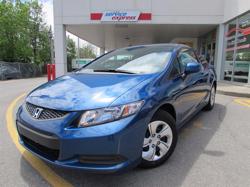Honda Civic Cpe 2013 2dr Man LX BLUETOOTH SIEGE CHAUFFANT  #317583-1