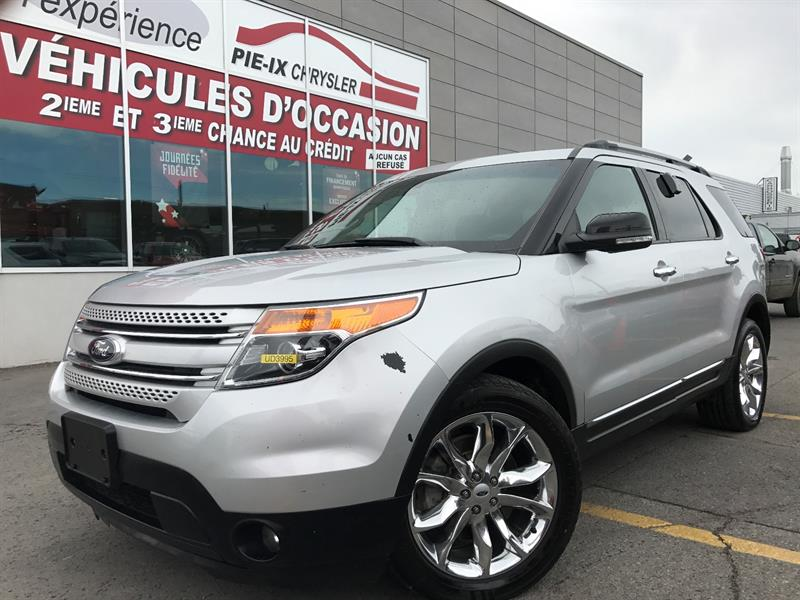 Ford Explorer 2014 4WD 4dr XLT+CUIR+TOIT+MAGS+A/C+GR.ELEC+WOW! #UD3995