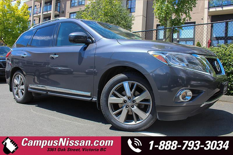 2014 Nissan Pathfinder Platinum Navi + Leather #A7031