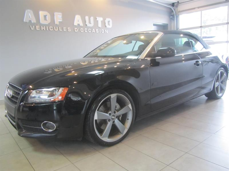 2010 Audi A5  CABRIOLET QUATTRO 2.0T PREMIUM #4195