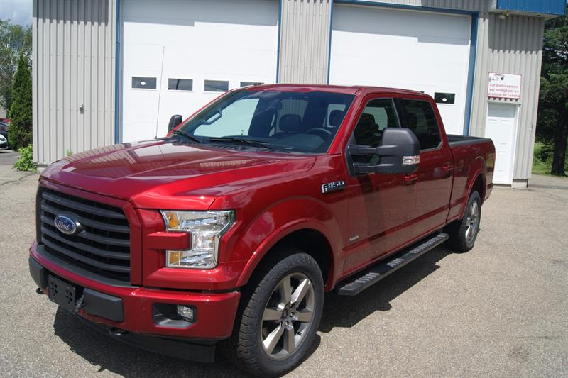 ford f 150 xlt sport 2017 neuf vendre saint norbert chez automobiles r jean laporte et fils. Black Bedroom Furniture Sets. Home Design Ideas