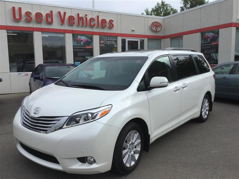 2015 Toyota Sienna XLE Limited, AWD, DVD, Navi, Leather, Sunroof, BSM #P6491