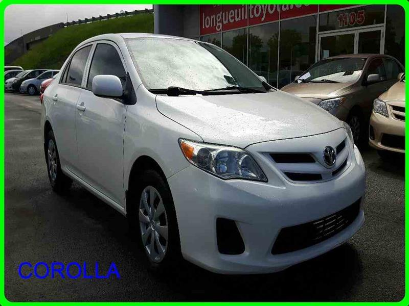 Toyota Corolla 2012 4DR SDN AT CE #11450A