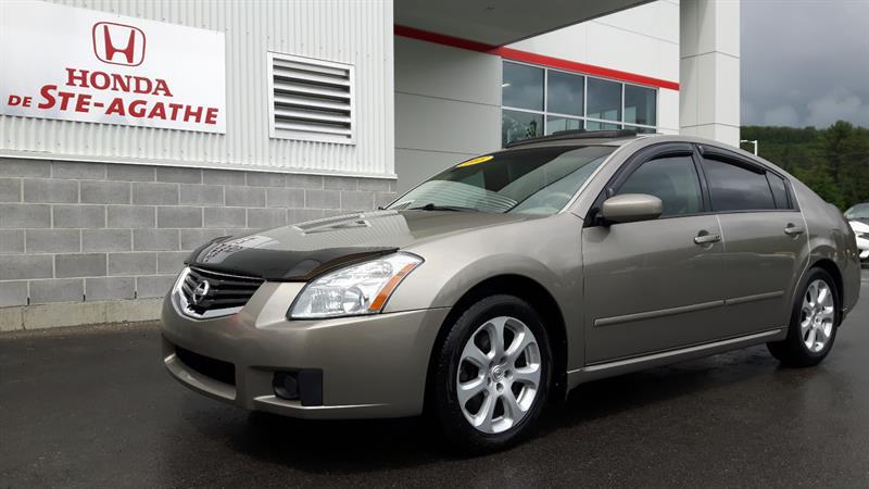Nissan Maxima 2008 SEL Cuir V6 Auto, Propre, Confortable à voir ! #p9282b
