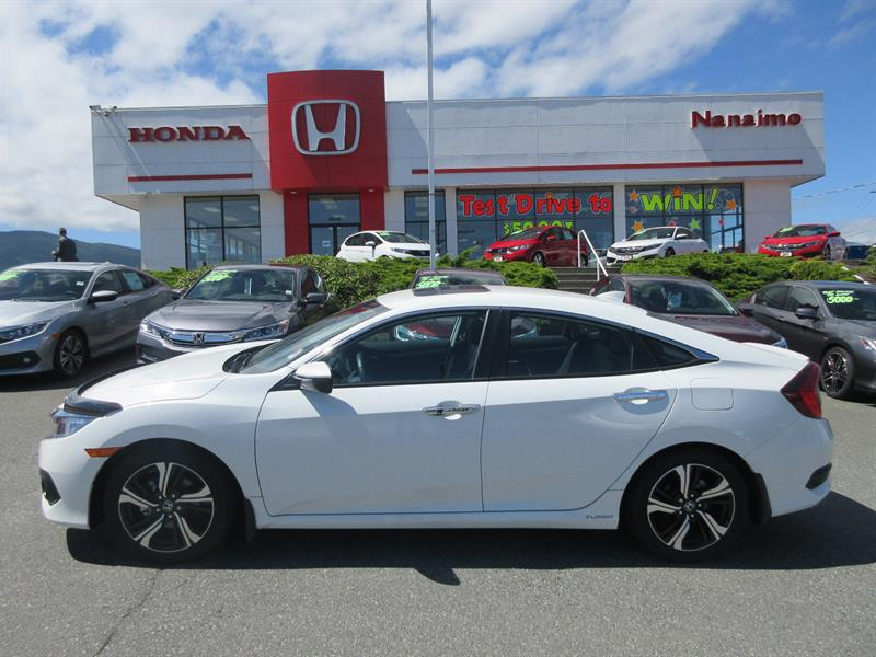 2016 Honda Civic Sedan 4dr CVT Touring #H15677A