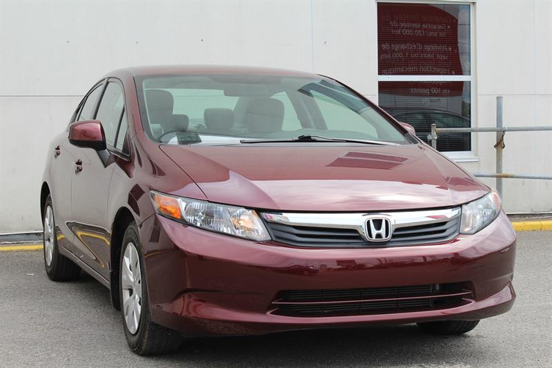 Honda Civic Sedan 2012 4dr Auto LX #U1166
