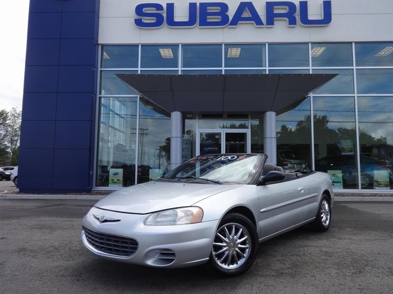 Chrysler Sebring Convertible 2003 GTC