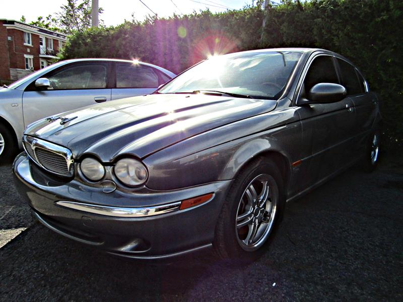 Jaguar X-Type 2006 4dr Sdn cuir toit mags awd  #k0409a
