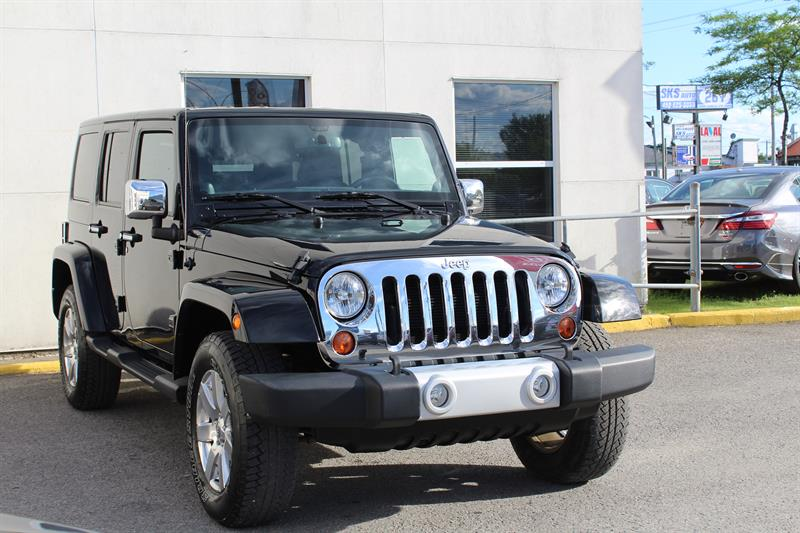 Jeep Wrangler Unlimited 2013 4WD 4dr Sahara #H0565A