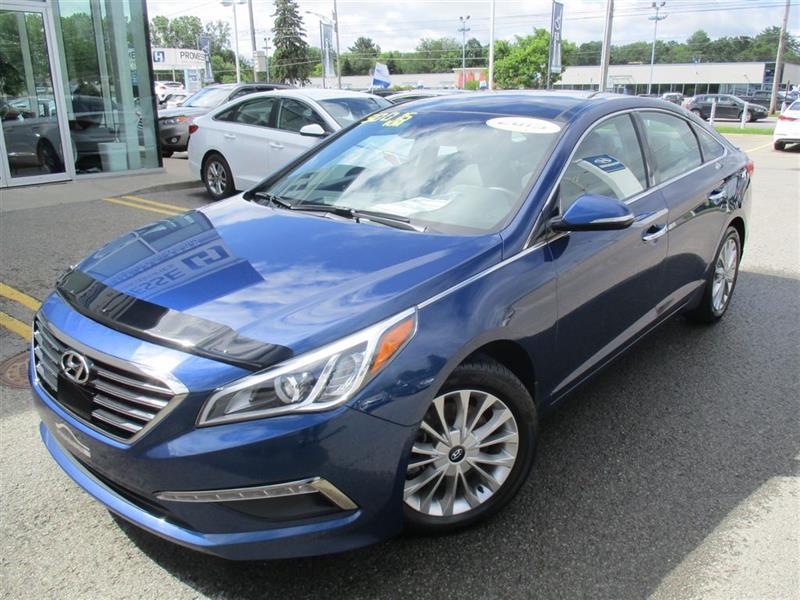 Hyundai Sonata 2015 Limited NAVIGATION,SIÈGES VENTILÉS,TOIT PANO++ #E-0172