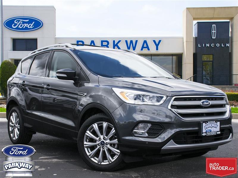 2017 Ford Escape Titanium FWD #PC9781