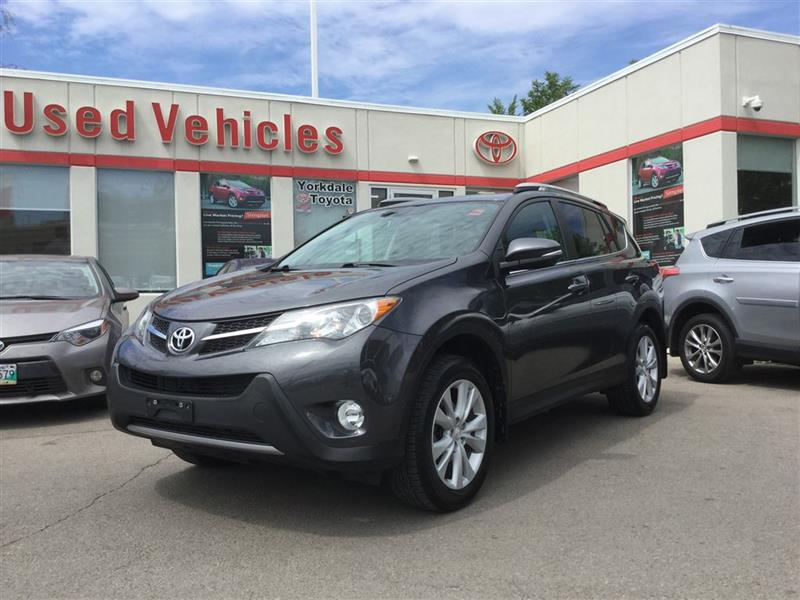 2013 Toyota RAV4 LIMITED, AWD, LEATHER, SUNROOF, CAMERA, PUSH BUTTO #C6505