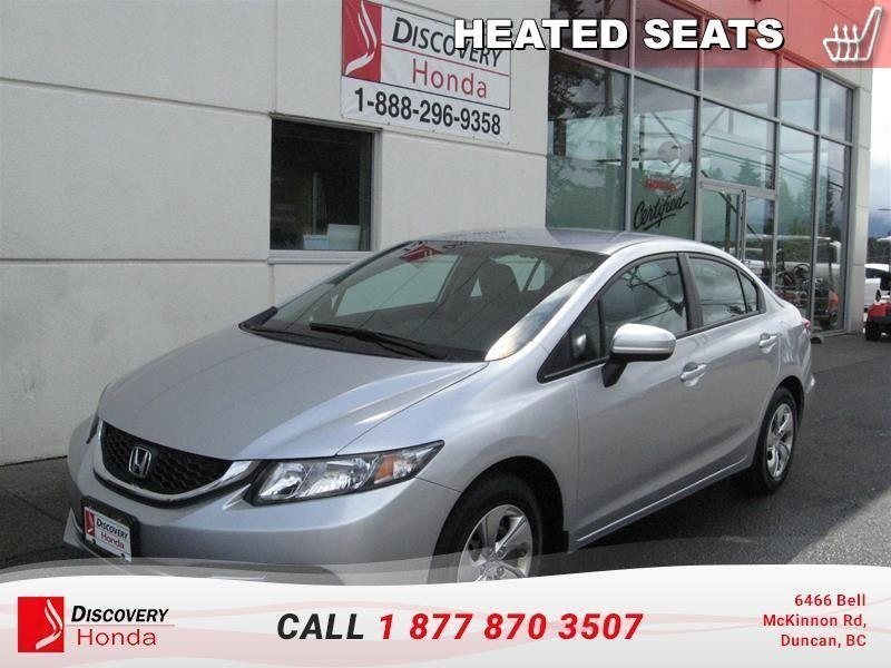 2014 Honda Civic Sedan Sedan LX CVT  - $110.72 B #B2548