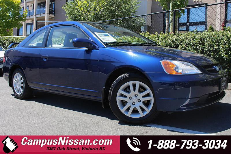 2002 Honda Civic Coupe SI #A7001A