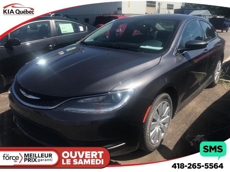 2015 Chrysler 200 LX #K170802A