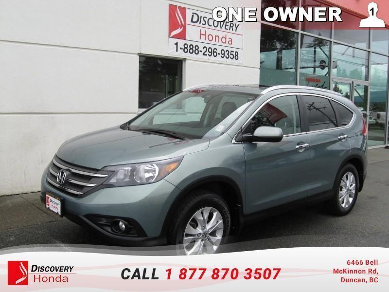 2013 Honda CR-V Touring AWD   - one owner #17-287A