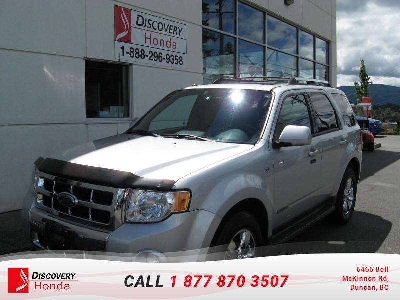 2008 Ford Escape Limited 4D Utility 4WD  - #17-296B