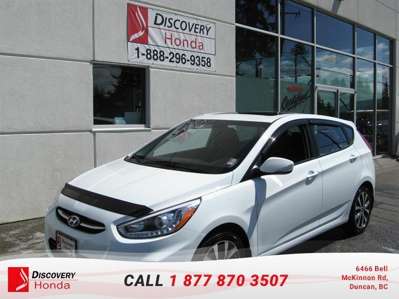 2015 Hyundai Accent 5Dr GLS at  - $91.18 B/W #17-364A