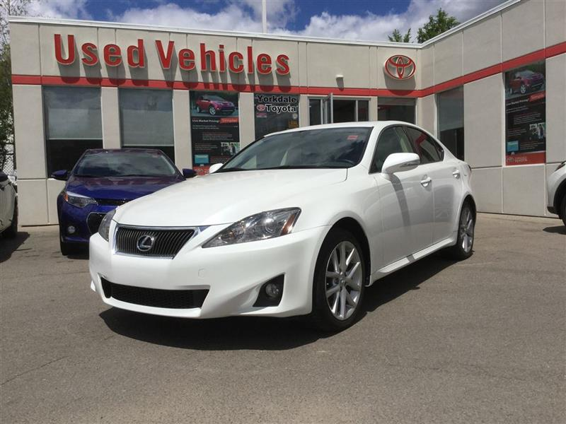 2013 Lexus IS 250 AWD, Leather, Sunroof, Power Seats, Heated Seats #P6486