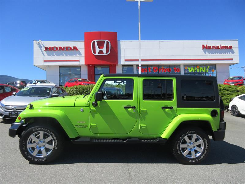 2012 Jeep Wrangler Unlimited 4WD 4dr #H15717A