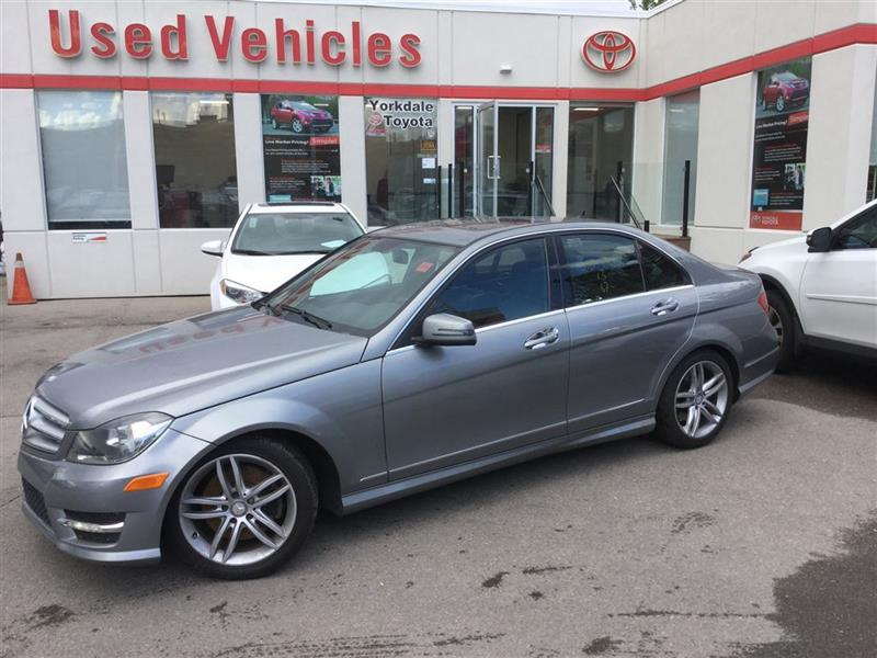 2013 Mercedes-Benz C-Class C300, 4MATIC, NAVI, LEATHER, SUNROOF, 1 OWNER #P6455