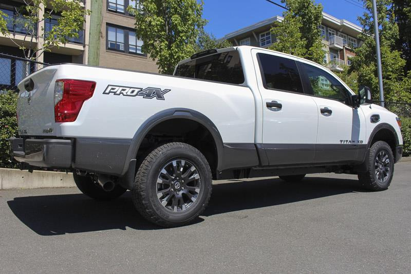 2017 nissan titan xd pro 4x diesel used for sale in victoria at campus acura. Black Bedroom Furniture Sets. Home Design Ideas