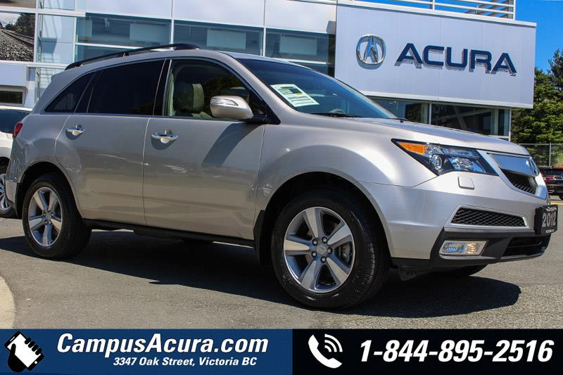 2012 Acura MDX AWD 4dr Tech Pkg ACCIDENT FREE / LOCALLY DRIVEN  #17-6269A
