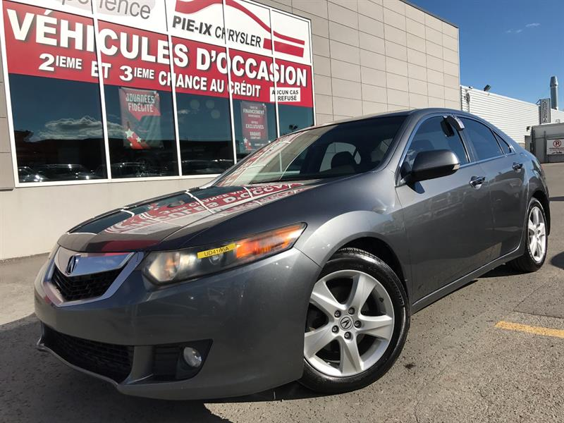 Acura TSX 2009 4dr Sdn Auto Pkg+CUIR+TOIT+MAGS+ #UD4165A