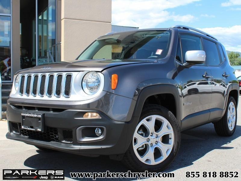 2016 Jeep Renegade Limited 4x4 #P0069