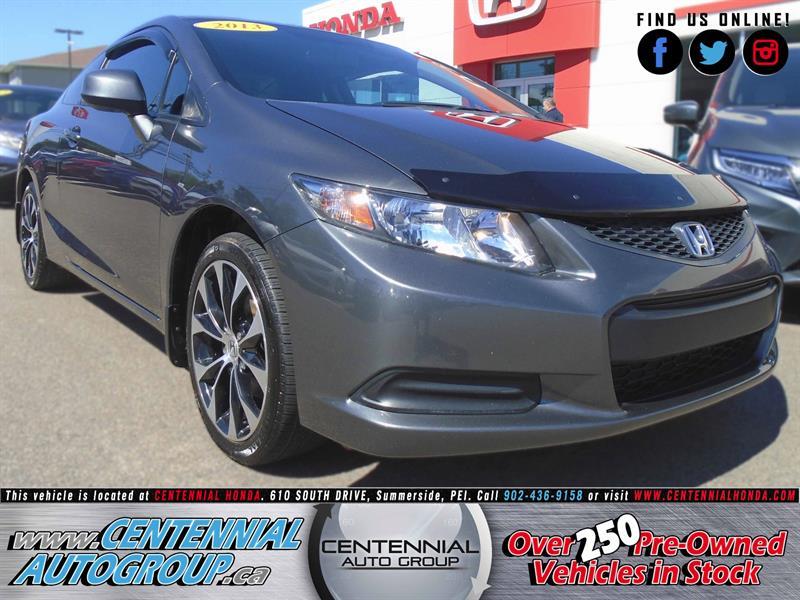 2013 Honda Civic Coupe EX #U1550A