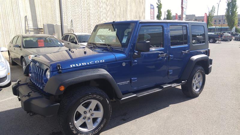 2010 Jeep Wrangler Unlimited Rubicon 4X4 #A7959