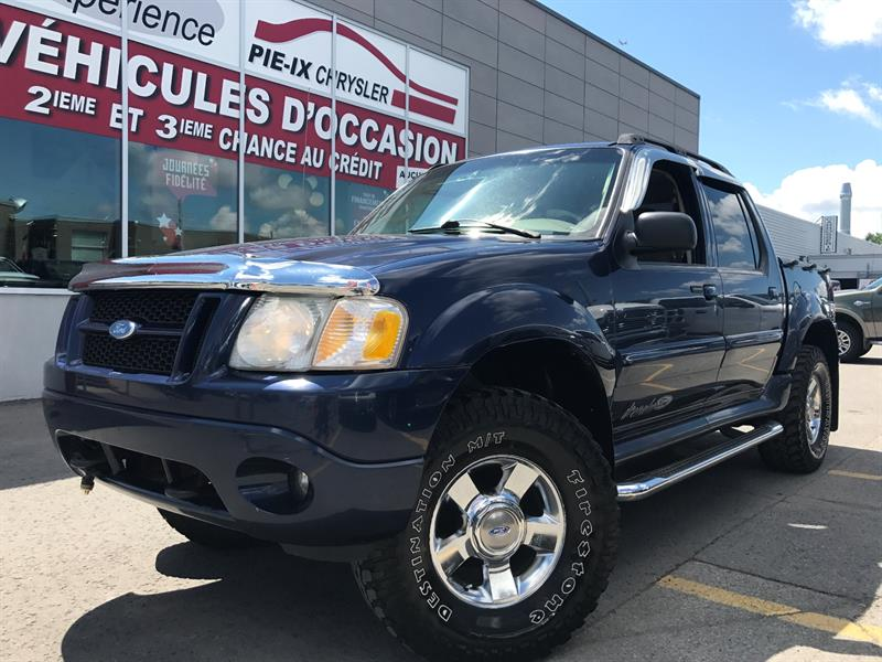 Ford Explorer Sport Trac 2005 4dr 4WD+MAGS+CUIR+TOIT+A/C+GR.ELEC+WOW! #ud4057A
