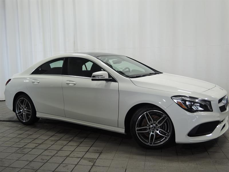 Mercedes-Benz CLA250 2018 4MATIC Coupe #18-0043