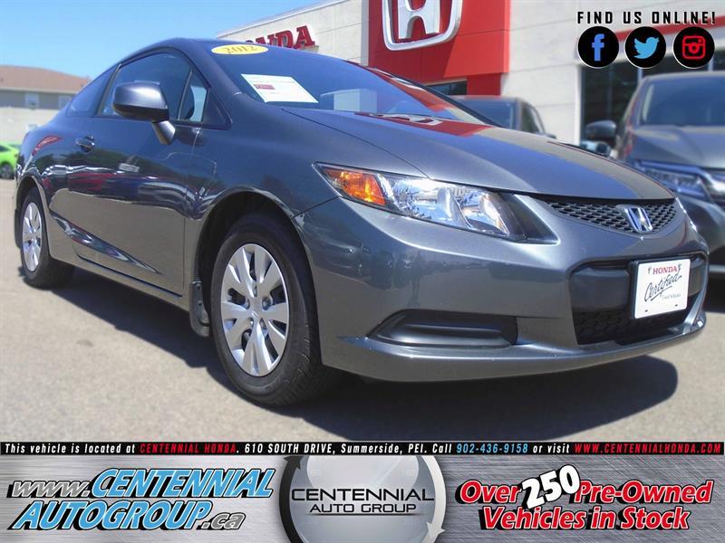 2012 Honda Civic Coupe LX #8189A