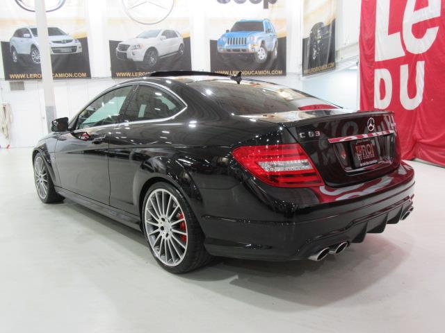 mercedes benz classe c coupe c63 amg 451hp 2012 occasion. Black Bedroom Furniture Sets. Home Design Ideas