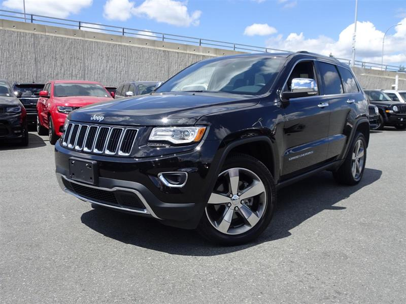 2016 Jeep Grand Cherokee Limited #17UP264