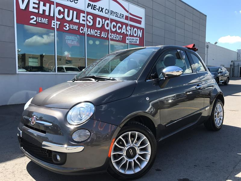 Fiat 500c 2014 2dr Conv Lounge+CONVERTIBLE+MAGS+A/C+GR.ELEC+WOW! #UD4184A