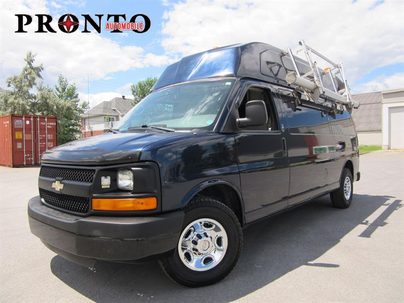 Chevrolet Express Cargo Van 2008 3500 Allongé Toit surélevé ** High roof ** 6.0L *  #3401