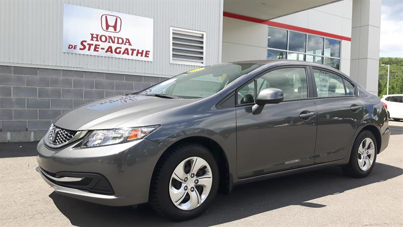 Honda Civic 2013 Man LX bas km, Bluetooth, A/C, USB #g120a