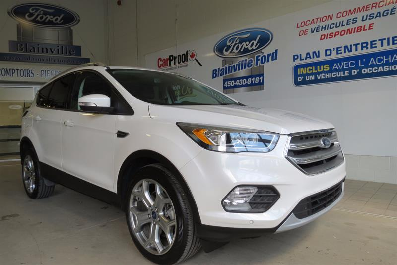 Ford Escape 2017 TITANIUM AWD CUIR TOIT NAV #170015