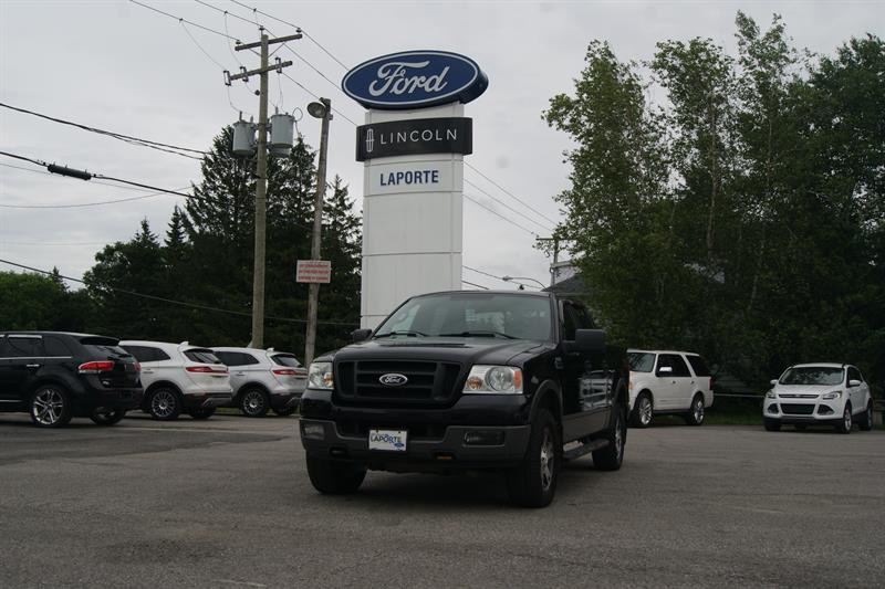 Ford F-150 2005 SuperCrew 139 4WD #U3486