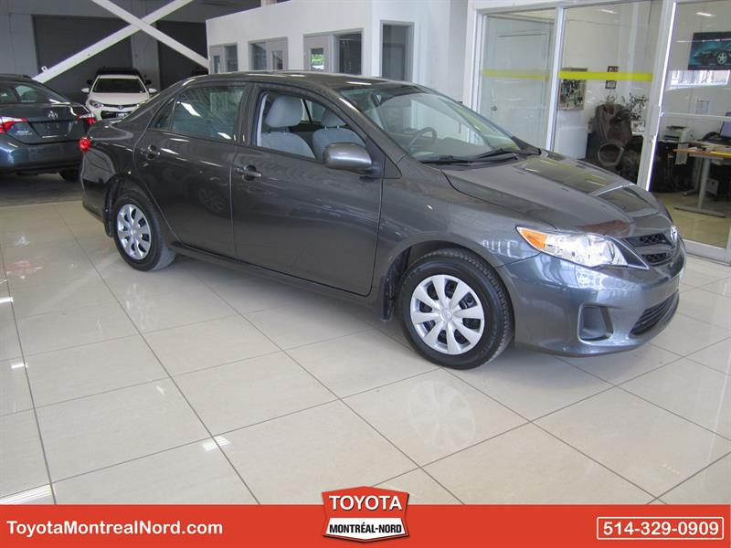 Toyota Corolla 2013 CE Gr.Electric + Toit #2586 AT