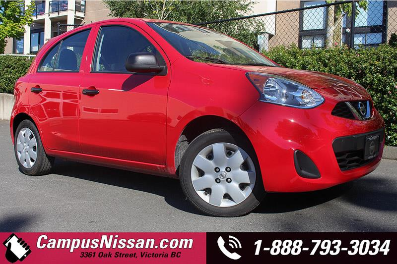 2016 Nissan Micra S w/MANUAL TRANSMISSION #A7045